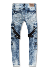 Jordan Craig Ross - Deadwood Cargo Denim (Medium Blue) - BLVD