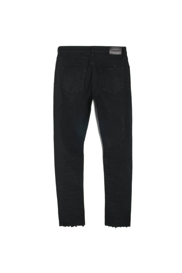 Purple Brand Jeans P001 Low Rise With Slim Leg Black Resin - BLVD