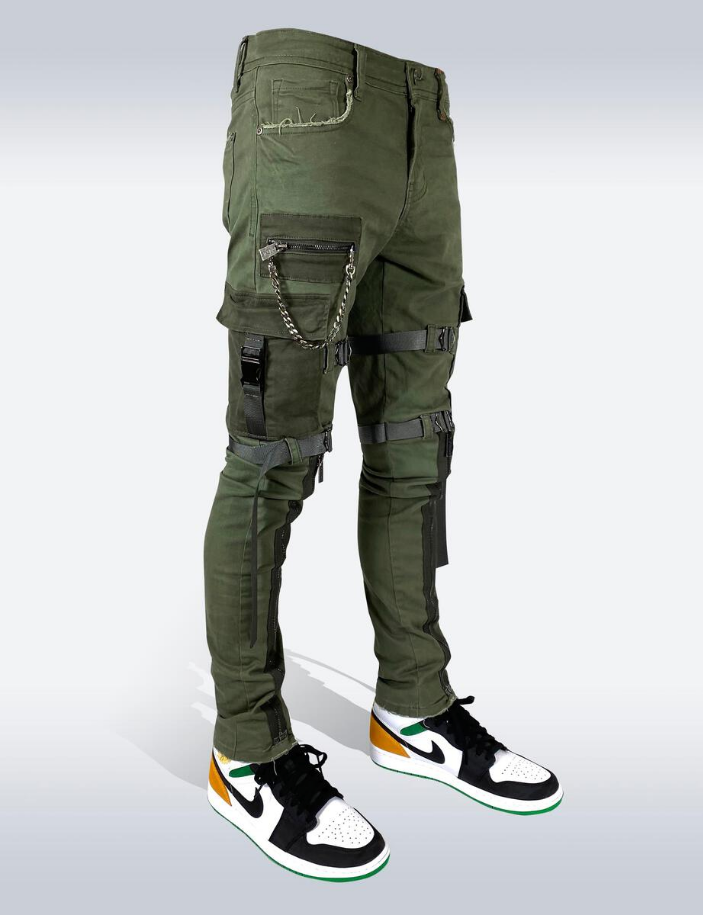 Preme Men Tactical Denim Olive - BLVD