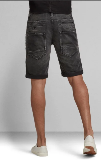 G-star Men D-Staq 3d Shorts Black Wash - BLVD