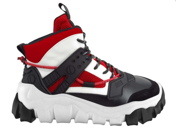 Javi Men Shuttle Boots Sneaker Black Red White - BLVD