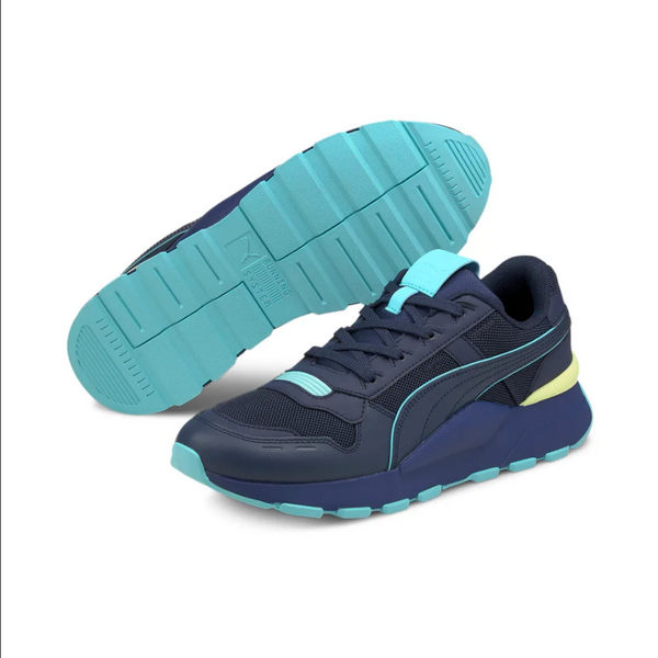 Men's Puma RS 2.0 Trainers Shoes Peacoat-Angel Blue - BLVD