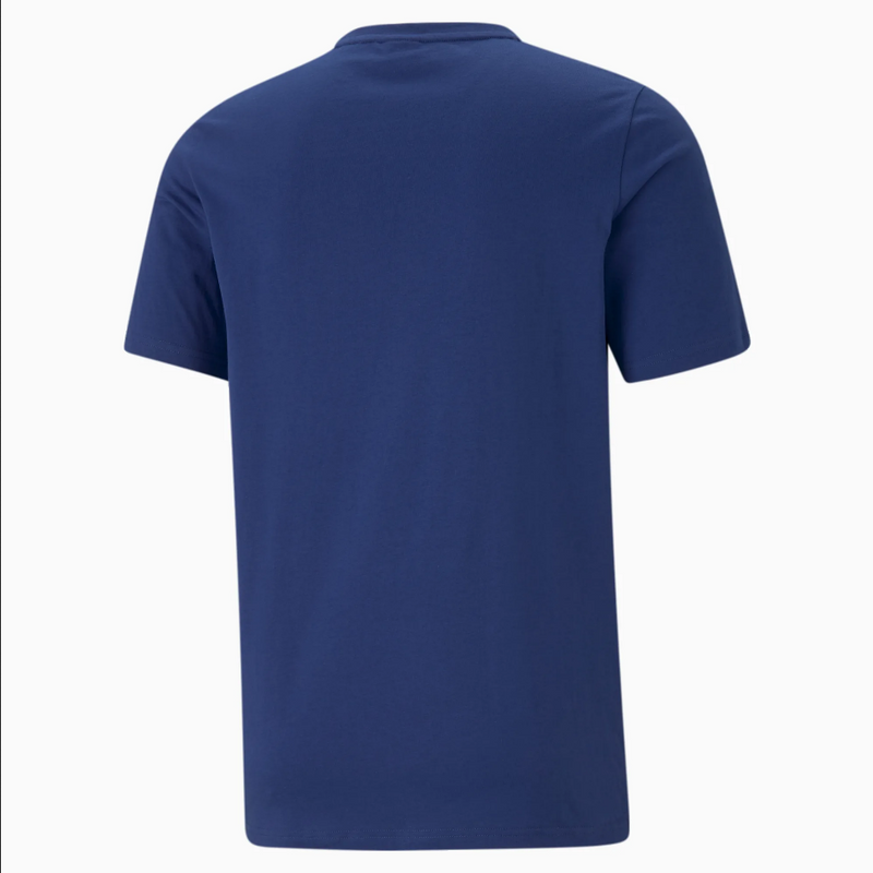 Puma  Logo Play Men's Graphic Tee Elektro Blue - BLVD
