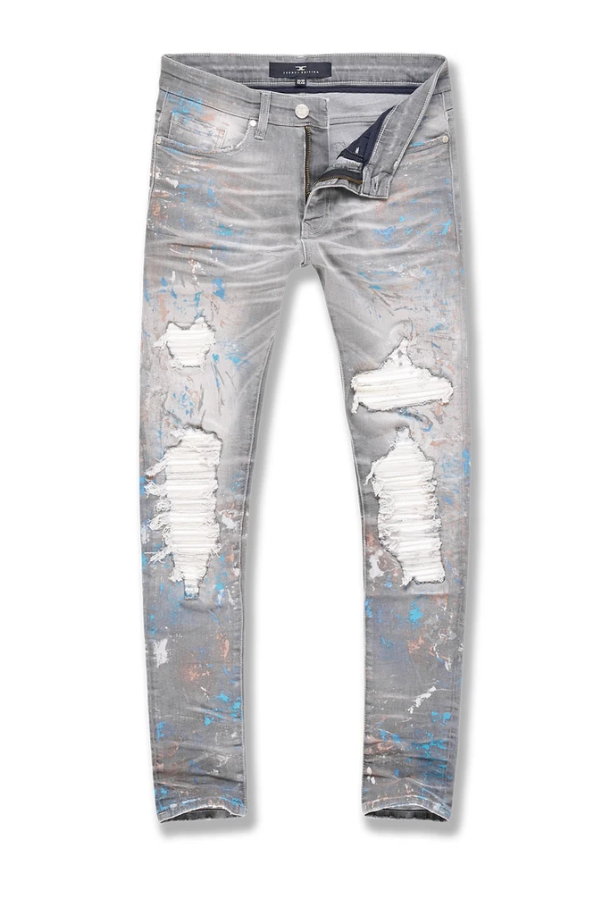 Jordan Craig Men's Sean - Reign Denim (Cement Wash) - BLVD