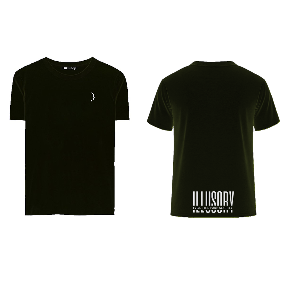 "ILLUSORY ""FAKE SYMBOL"" TEE"