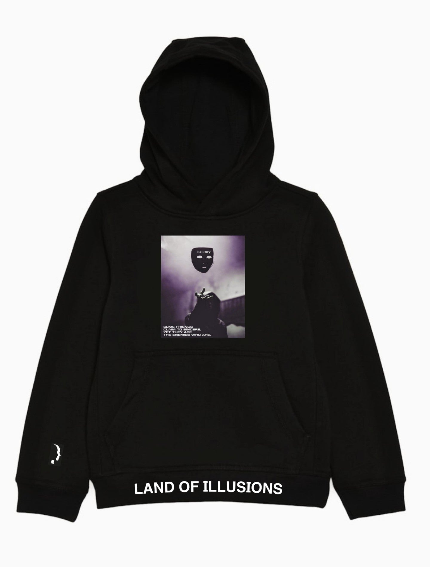 "ILLUSORY ""FAKE FRIENDS"" HOODIE"