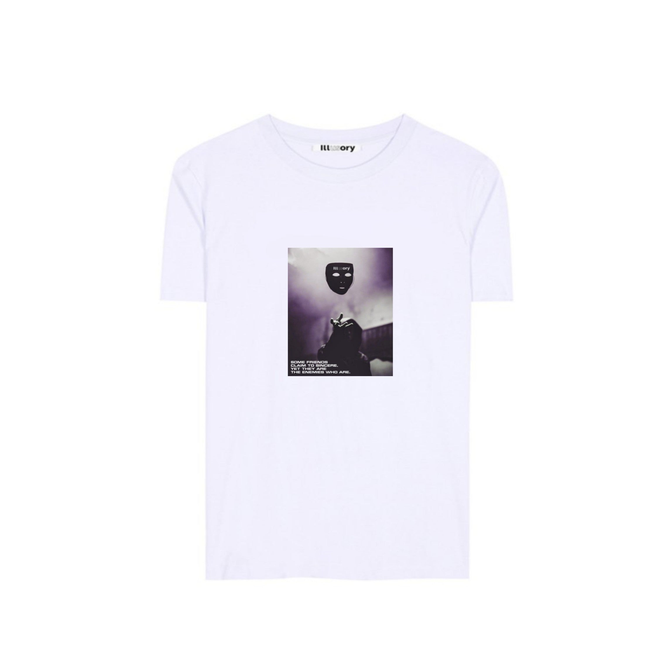 "ILLUSORY ""FAKE FRIENDS"" TEE"