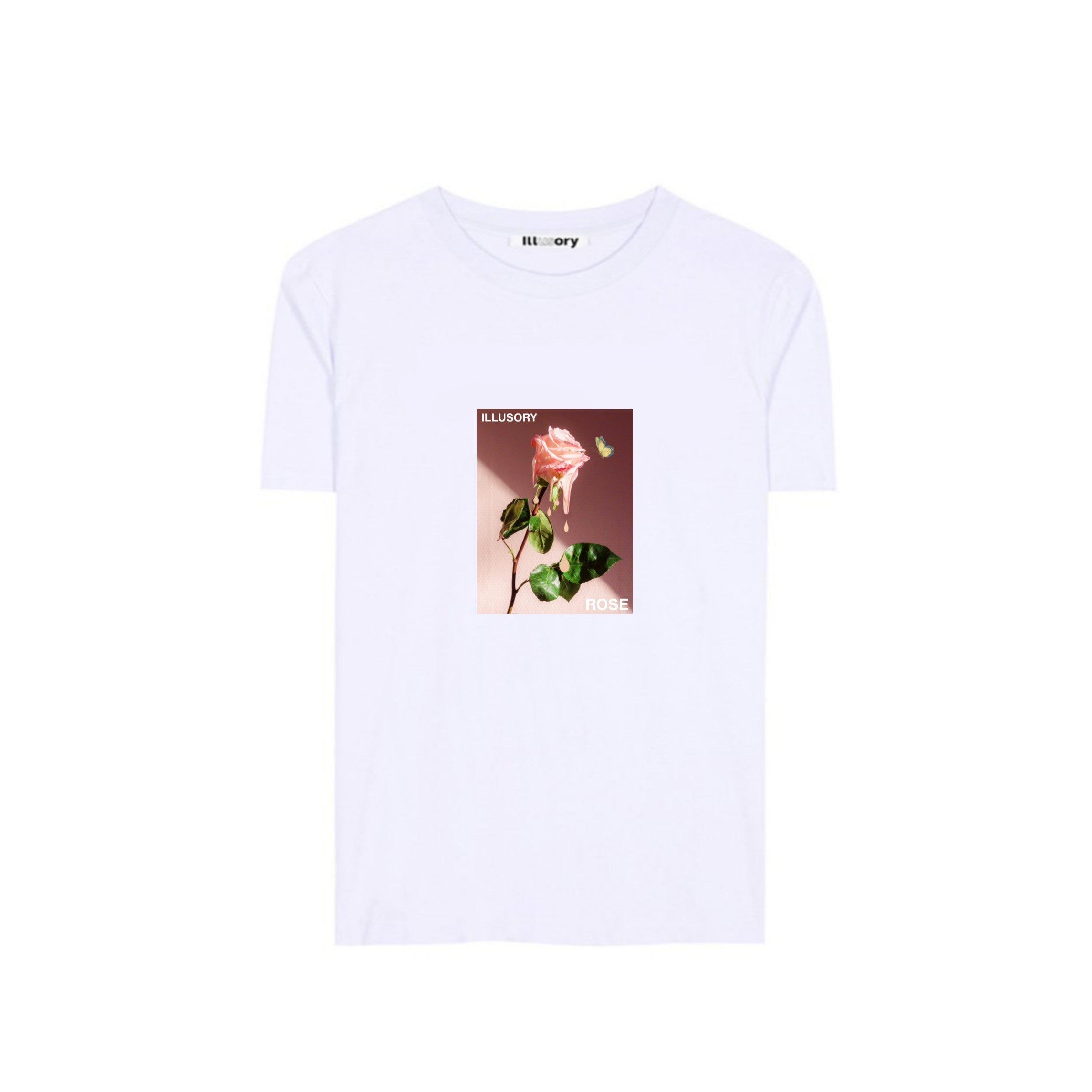 ILLUSORY ROSE TEE