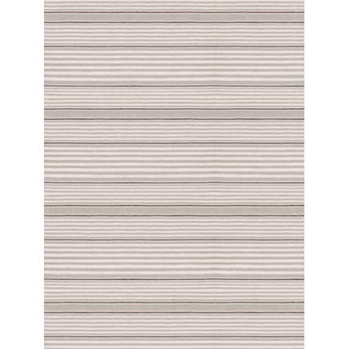 wilson stripe rug shown in silver and ivory