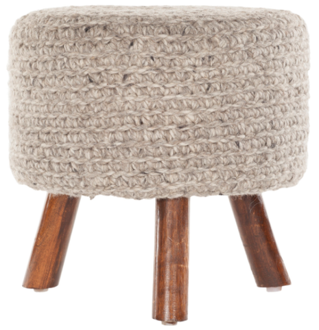 Nelly Stool in Oatmeal
