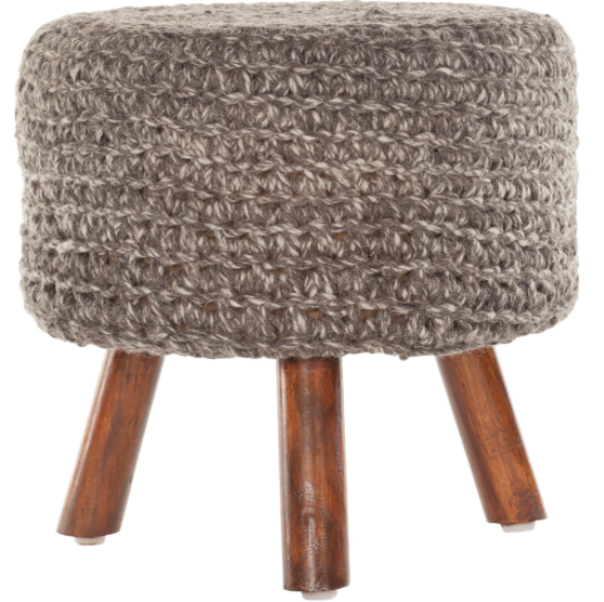 Nelly Stool in Mocha