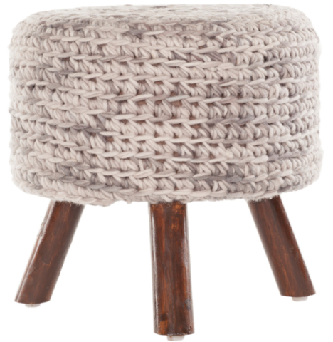 Nelly Stool in Cashmere