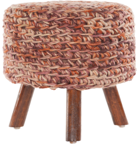 Nelly Stool in Rose