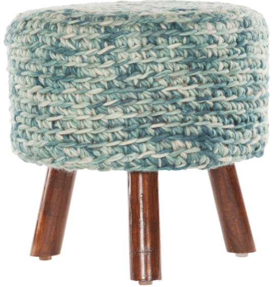 Nelly Stool in Blue