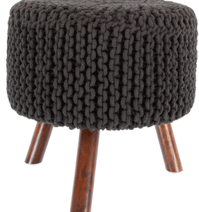 Nelly Stool in Black