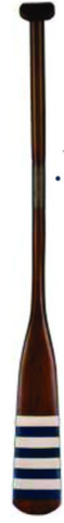 Boat Stripe Wooden Oar