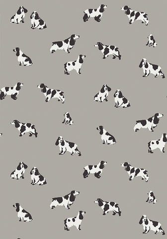 Maggie Wallpaper in Gray