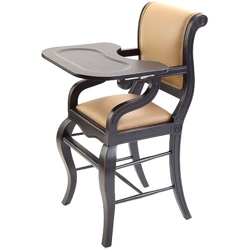 Highchair in Distressed Black