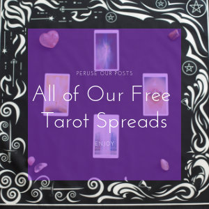 Path of Posts for Hidden Crystal Tarot's Free Tarot Spreads. Enjoy our blog on Tarot, Spirituality, Crystals, Tarot Spreads, and our Tarot Cloths.