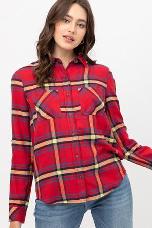 Mauvelously Shaggy Faux Fur Vest