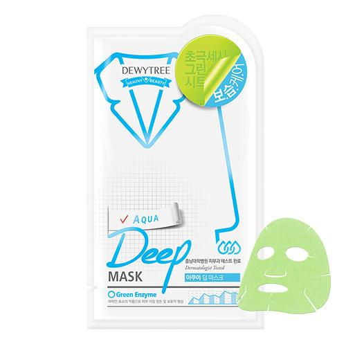 DEWY TREE Aqua Deep Mask - FLETNA Korean Cosmetics