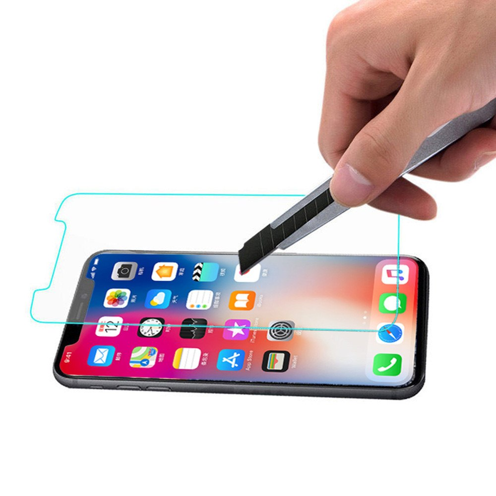 Screen Protector for Iphone X, XR, XS & XS Max + Cleaning Kit