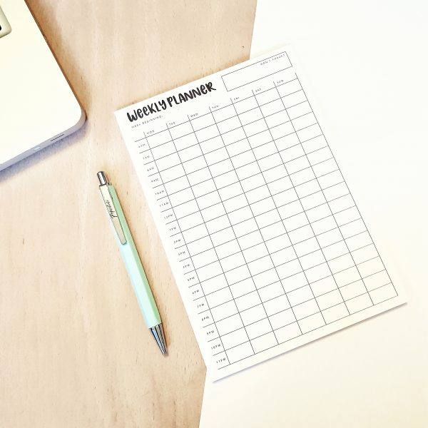 A5 Weekly Planner Desk Pad