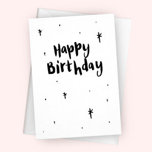 'Happy Birthday' Greetings Card
