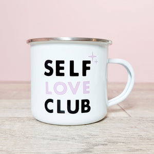 Self Love Club Mug ~ Lilac
