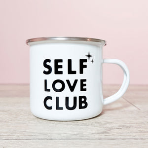 Self Love Club Mug ~ Black