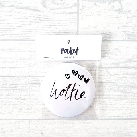 'Hottie' Pocket Mirror