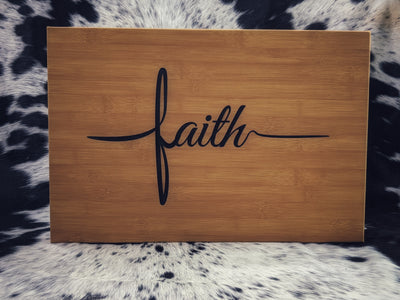 "Faith 12"" x 18"" Frame"