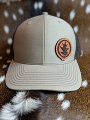 Custom Leather Patch Hat $20 Special!