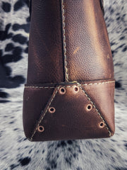 """Kristi Arizona Aztec"" Leather Purse"