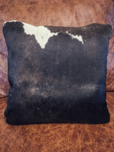 "Cowhide Pillow 18"" x 18"""
