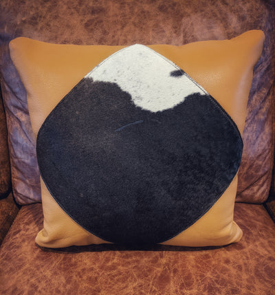 "Cow Patch Pillow 18"" x 18"""