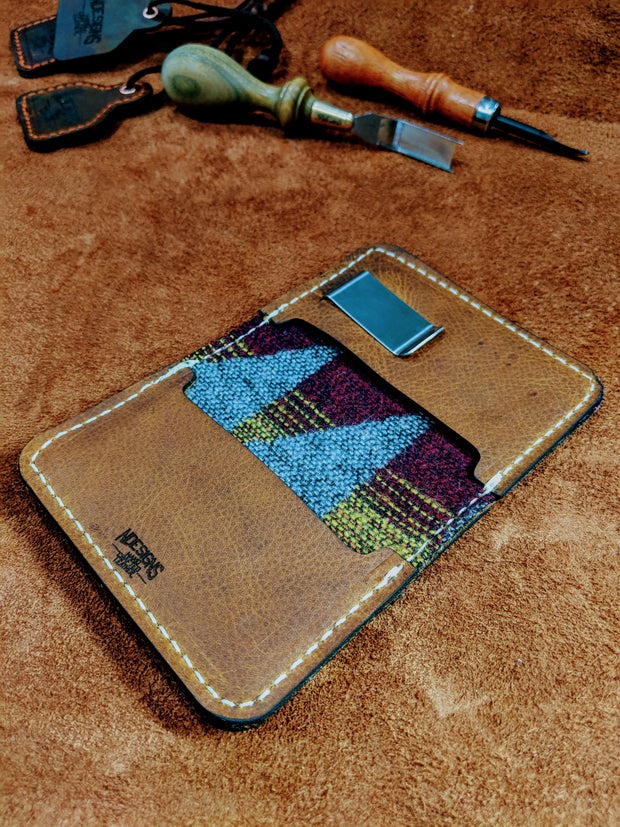 Fly Rod Leather Wallet