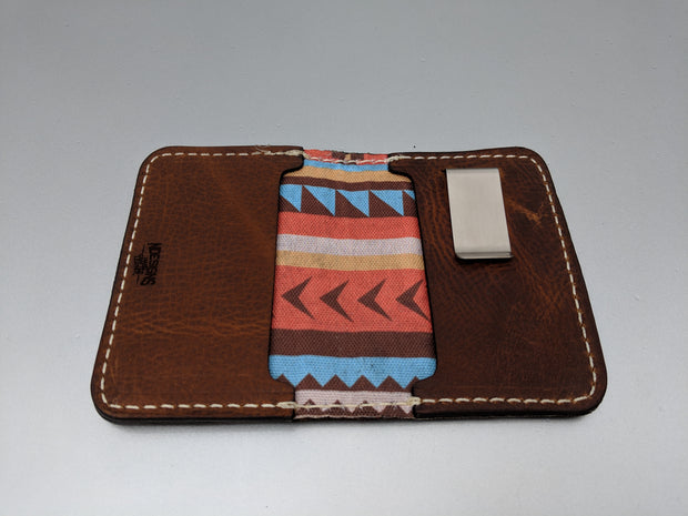 Three Duck Leather Wallet
