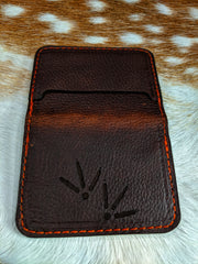 Turkey Tracks Leather Wallet