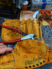 Custom Baseball Wallet from your personal glove!