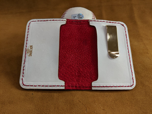 Rawlings White Baseball Wallet