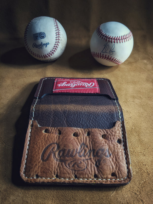 Rawlings Baseball Wallet from our stock of leather gloves!