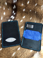 Stingray Wallet with Eye