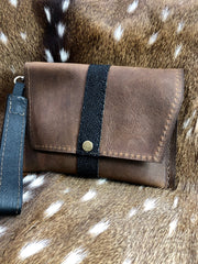 Cherry Clutch with Stingray