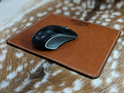 Custom Square Leather Mouse Pad