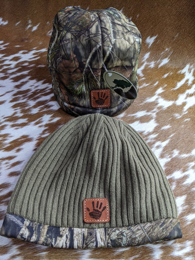 Jeep Wave - Richardson Reversible Fleece Camo Beanie