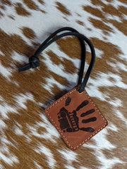 Jeep Wave Die Cut or Square Key Chain