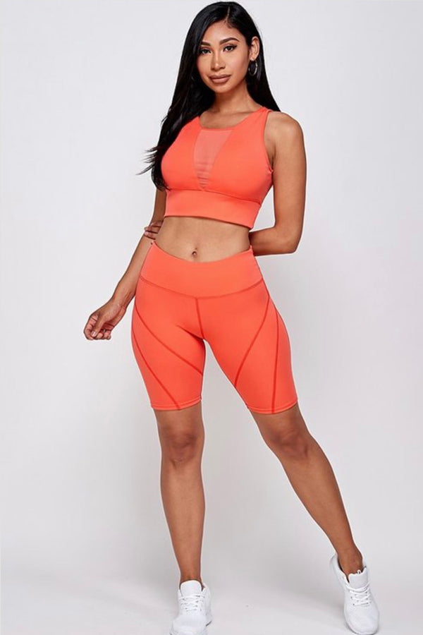 Tangerine fitness set