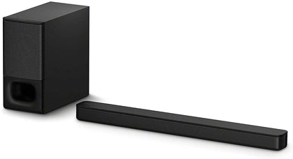 Sony HT-S350 Soundbar with Wireless Subwoofer: S350 2.1ch Sound Bar and Powerful Subwoofer - Home Theater Surround Sound Speaker System for TV - Bluetooth and HDMI Arc Compatible Bar Black