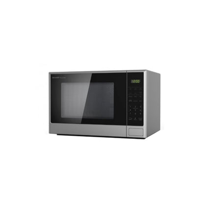 Sharp 28L Microwave Oven, 1100W, R-28CT-S, Silver